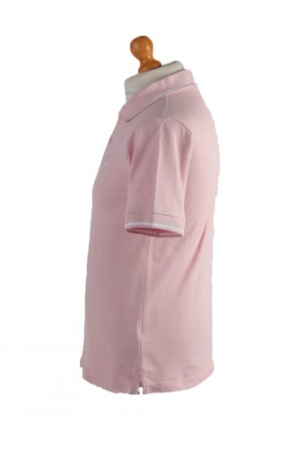 """Kappa Vintage Casual Men Polo Shirt Pink Chest Size 38"""" -PT0423-24681"""