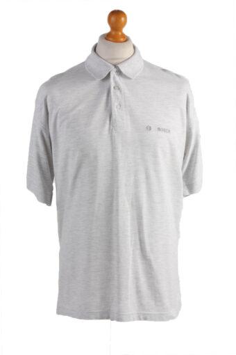 Polo Shirt 90s Retro Off White XXXL