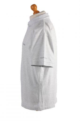 "Bosch Vintage Casual Men Polo Shirt Gray Chest Size 48"" -PT0442-24738"