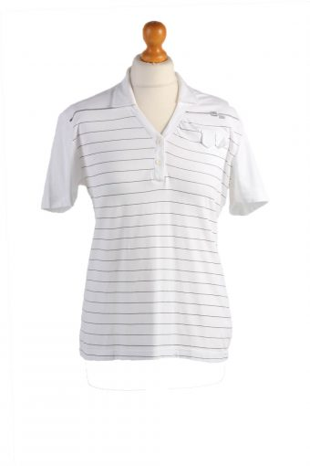 G Star Polo Shirt 90s Retro White M