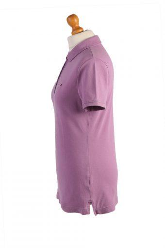 Tommy Hilfiger Vintage Casual Women Polo Shirt Purple Size M -PT0460-24799