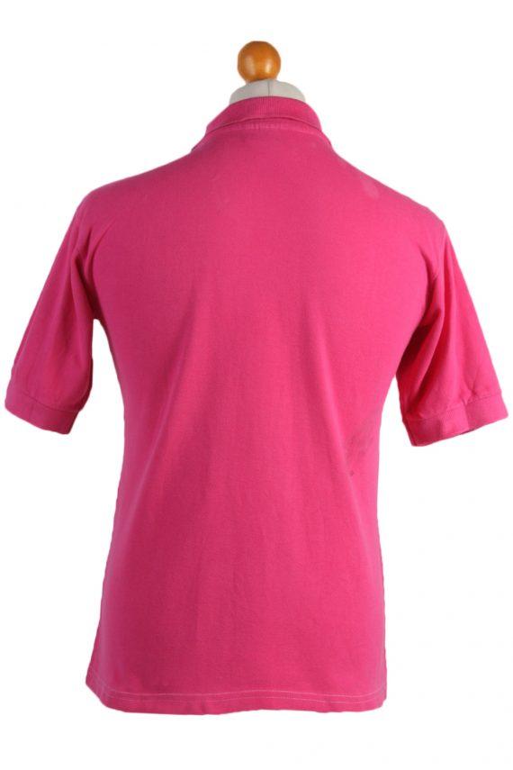 "Lacoste Vintage Casual Men Polo Shirt Pink Chest Size 39"" -PT0505-24937"
