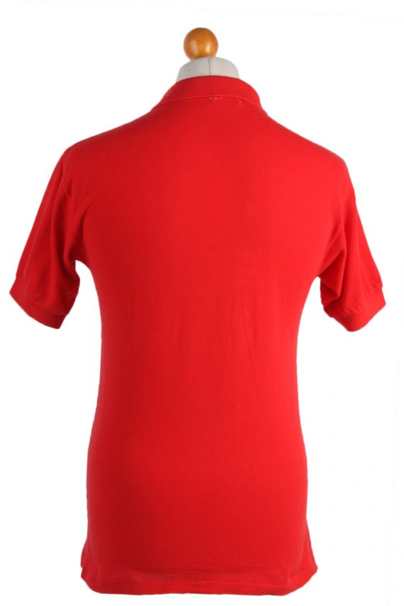 """Lacoste Vintage Casual Men Polo Shirt Red Chest Size 39"""" -PT0528-25004"""