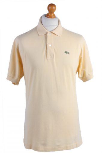 Lacoste Polo Shirt 90s Retro Yellow XXL