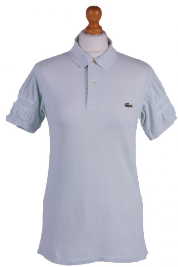 Lacoste Vintage Casual Women Polo Shirt Green Chest Size 37_ -PT0583-0