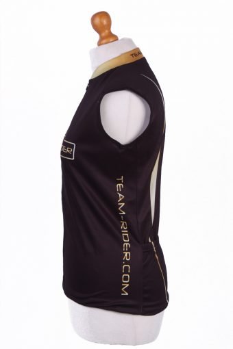 Retro Cycling Cycle Vintage Sport Race Jersey Shirt Black Size M -CW0304-25803