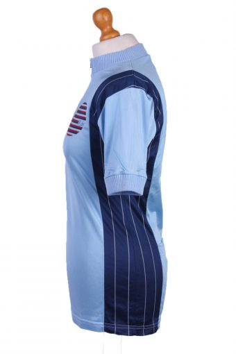 """Retro Cycling Cycle Vintage Sport Race Jersey Shirt Blue Chest Size 36""""-CW0319-25848"""