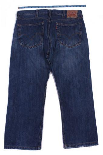Levi`s 501 Vintage Blue Jeans with Buttons&Zip Unisex Size - W37 L23 - J2055-26013