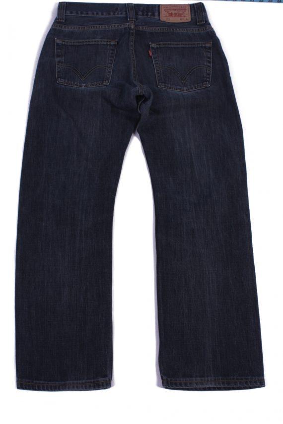 Levi`s 506 Vintage Blue Jeans with Buttons&Zip Unisex Size - W32 L29.5 - J2059-26025