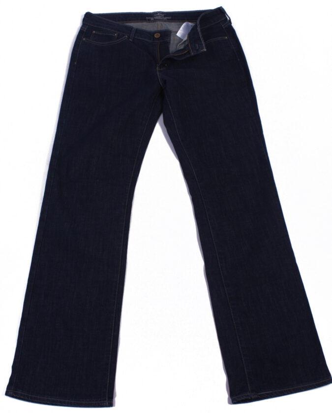 Levi`s Vintage Dark Blue Jeans with Buttons&Zip Women Size - W30 L32 - J2066-0