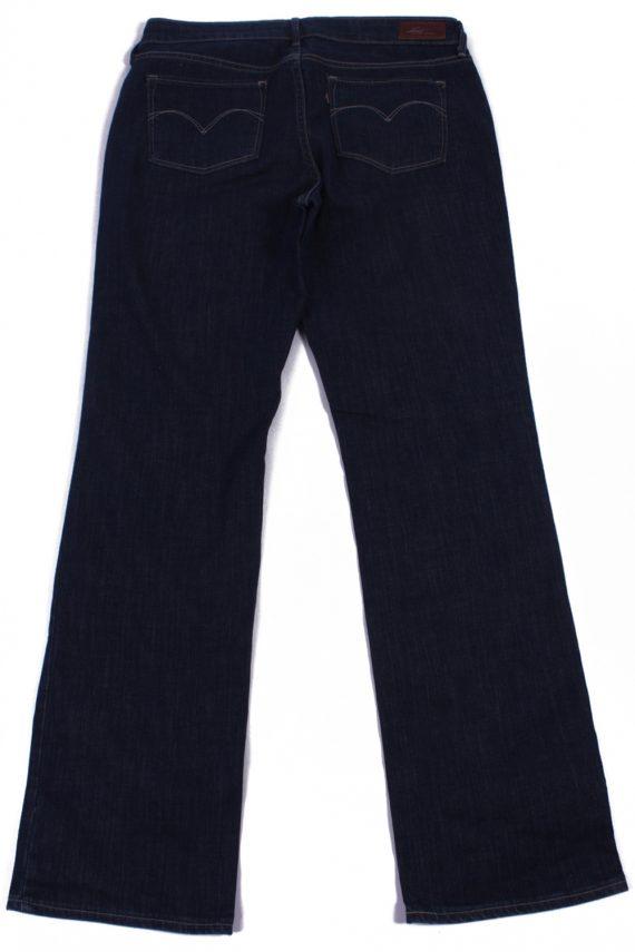 Levi`s Vintage Dark Blue Jeans with Buttons&Zip Women Size - W30 L32 - J2066-26046