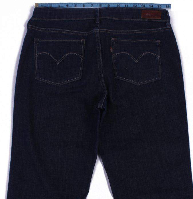 Levi`s Vintage Dark Blue Jeans with Buttons&Zip Women Size - W30 L32 - J2066-26047