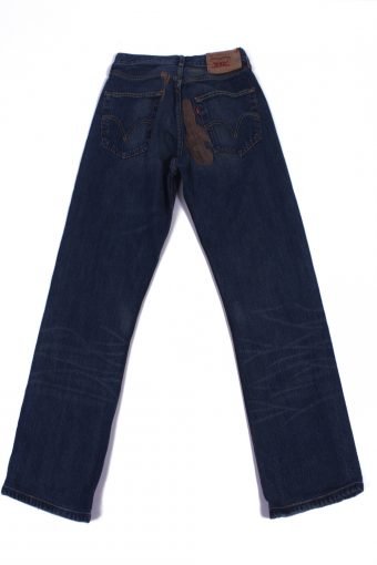 Levi`s Vintage Dark Blue Jeans with Buttons&Zip Unisex Size - W31 L28 - J2077-26079