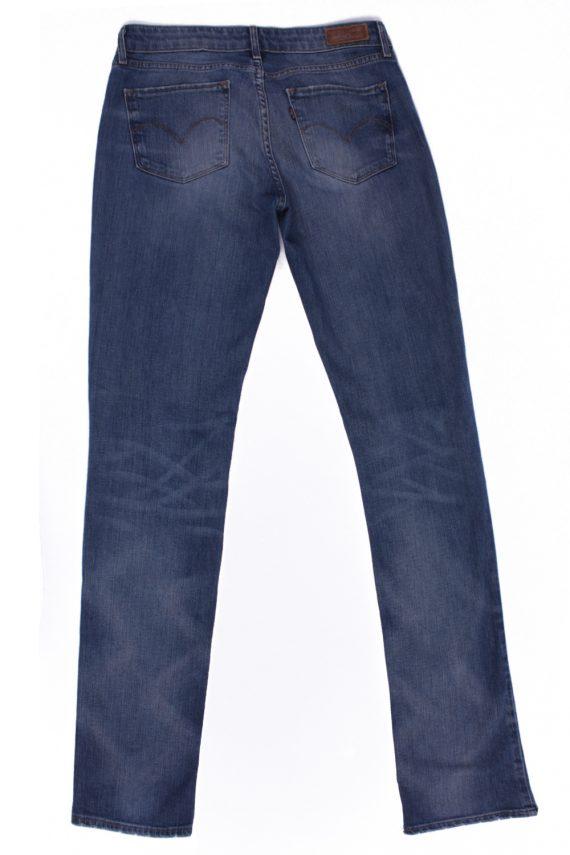 Levi`s Vintage Blue Jeans with Buttons&Zip Unisex Size - W29 L34 - J2084-26099