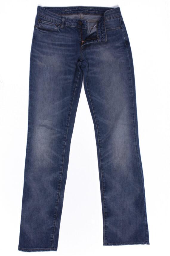 Levi`s Vintage Blue Jeans with Buttons&Zip Unisex Size - W29 L34 - J2084-0
