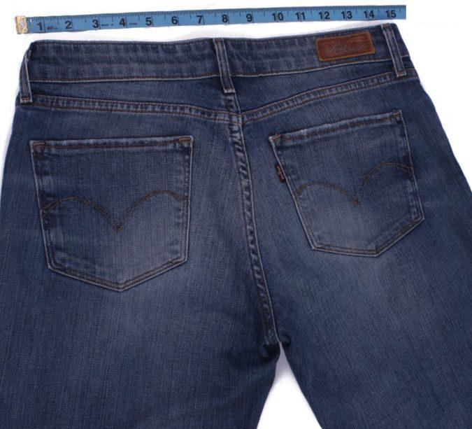 Levi`s Vintage Blue Jeans with Buttons&Zip Unisex Size - W29 L34 - J2084-26100
