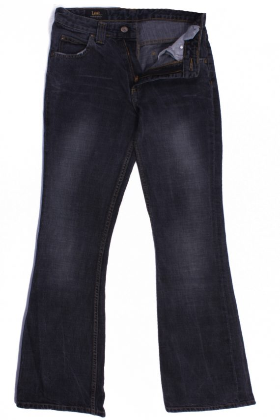 Lee Vintage Dark Grey Jeans with Buttons&Zip Women Size - W28 L32.5 - J2101-0