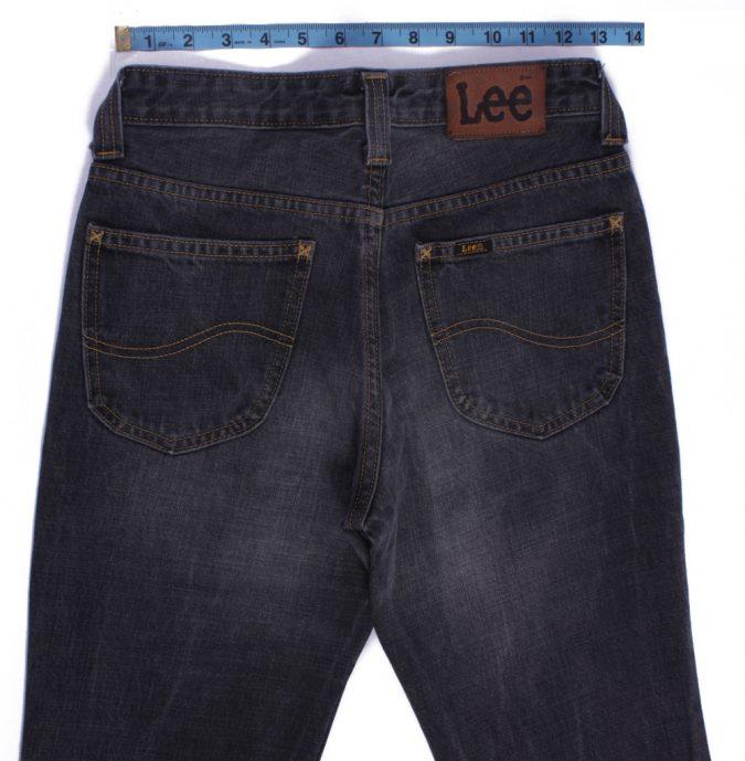 Lee Vintage Dark Grey Jeans with Buttons&Zip Women Size - W28 L32.5 - J2101-26152