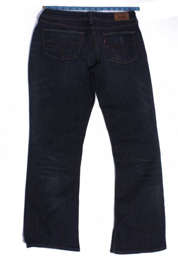 Levi`s 572 Vintage Dark Grey Jeans Zip Women Size - W30 L33 - J2102-26154