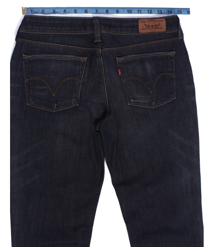 Levi`s 572 Vintage Dark Grey Jeans Zip Women Size - W30 L33 - J2102-26155