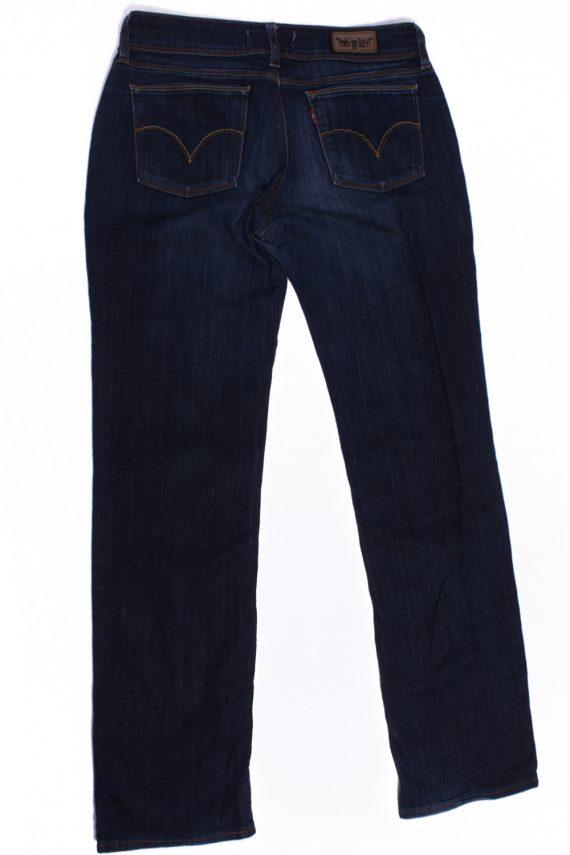 Levi`s 570 Vintage Blue Jeans with Buttons&Zip Women Size - W:30 L:33.5 - J2106-26166