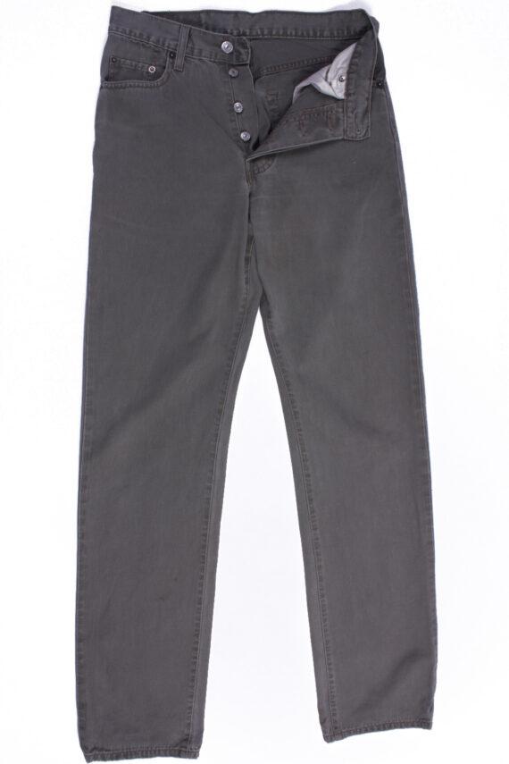 Levi`s 45 Vintage Grey Jeans with Buttons&Zip Unisex Size - W:29 L:34 - J2109-0