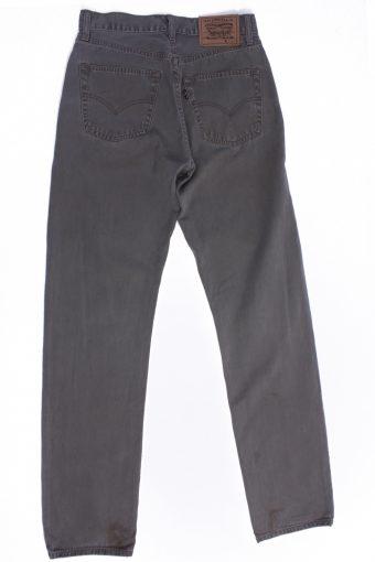 Levi`s 45 Vintage Grey Jeans with Buttons&Zip Unisex Size - W:29 L:34 - J2109-26175