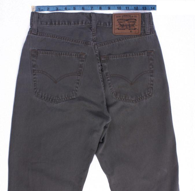 Levi`s 45 Vintage Grey Jeans with Buttons&Zip Unisex Size - W:29 L:34 - J2109-26176