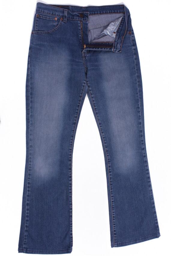 Levi`s 525 Vintage Blue Jeans with Buttons&Zip Unisex Size - W:29 L:31 - J2113-0