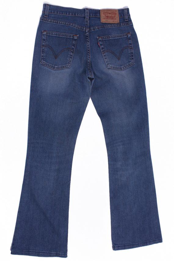 Levi`s 525 Vintage Blue Jeans with Buttons&Zip Unisex Size - W:29 L:31 - J2113-26187