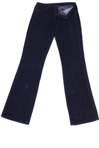 Levi's Denim Jeans Flare Leg Low Waist Women W28 L34