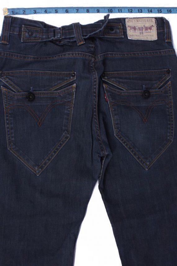 """Lot Vintage Blue Jeans with Buttons&Zip Unisex Size - W:32"""" L:29"""" - J2160-26450"""