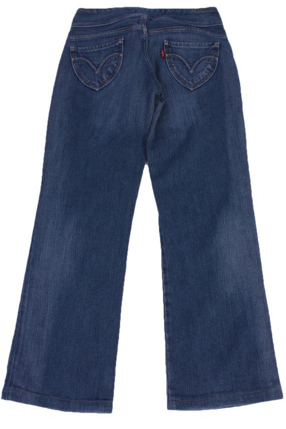 """Levi's Vintage Blue Jeans with Buttons&Zip Women Size - W:26"""" L:28"""" - J2195-26545"""