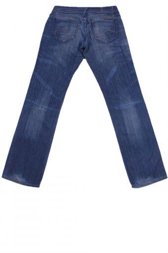 """Vintage Blue Jeans with Buttons&Zip Women Size - W:30"""" L:32"""" - J2346-26995"""