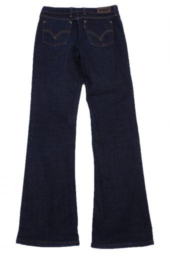 """Levi's Vintage Blue Jeans with Buttons&Zip Women Size - W:28"""" L:30.5"""" - J2359-27034"""