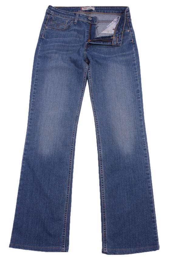 """Levi's Vintage Blue Jeans with Buttons&Zip Women Size - W:29"""" L:30.5"""" - J2361-0"""