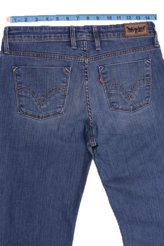 """Levi's Vintage Blue Jeans with Buttons&Zip Women Size - W:29"""" L:30.5"""" - J2361-27041"""