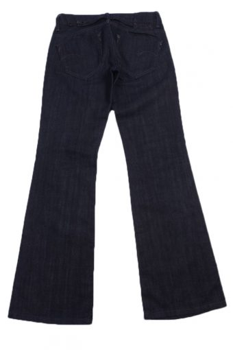 """G-Star Vintage Gray Jeans with Buttons&Zip Women Size - W:29"""" L:31"""" - J2363-27046"""