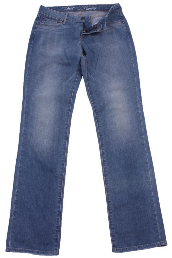 """Levi's Vintage Blue Jeans with Buttons&Zip Women Size - W:29"""" L:33"""" - J2380-0"""