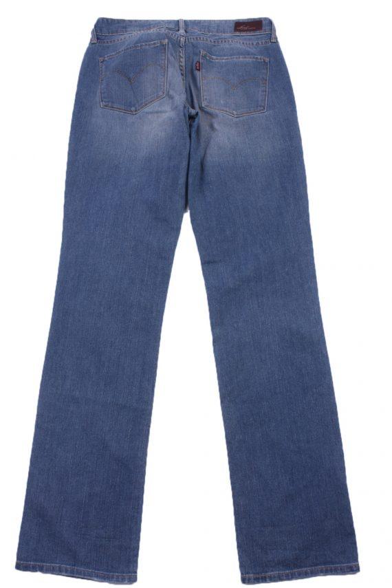 """Levi's Vintage Blue Jeans with Buttons&Zip Women Size - W:29"""" L:33"""" - J2380-27097"""