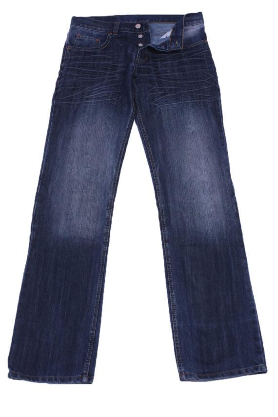 """Levi's Vintage Blue Jeans with Buttons&Zip Unisex Size - W:32"""" L:35"""" - J2404-0"""