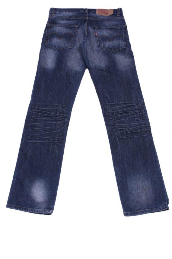"""Levi's Vintage Blue Jeans with Buttons&Zip Unisex Size - W:32"""" L:35"""" - J2404-27169"""