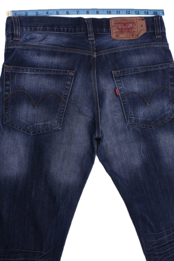 """Levi's Vintage Blue Jeans with Buttons&Zip Unisex Size - W:32"""" L:35"""" - J2404-27170"""