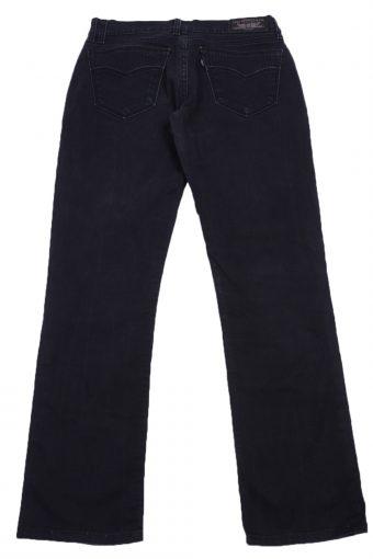 """Levi's Vintage Black Jeans with Buttons&Zip Women Size - W:28"""" L:28"""" - J2422-27223"""