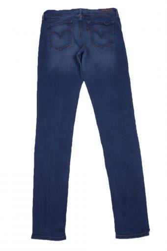 """Levi's Vintage Blue Jeans with Buttons&Zip Women Size-W:27"""" L:32"""" - J2425-27232"""