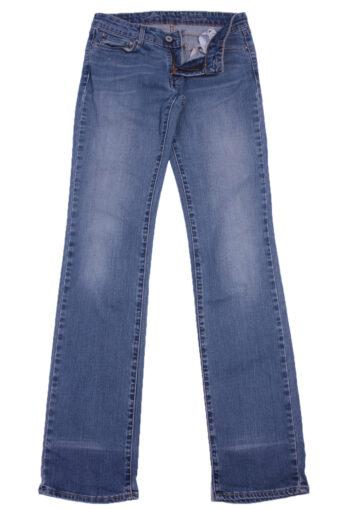 Levi's 247 Slim Fit Denim JeanWomens W27 L34