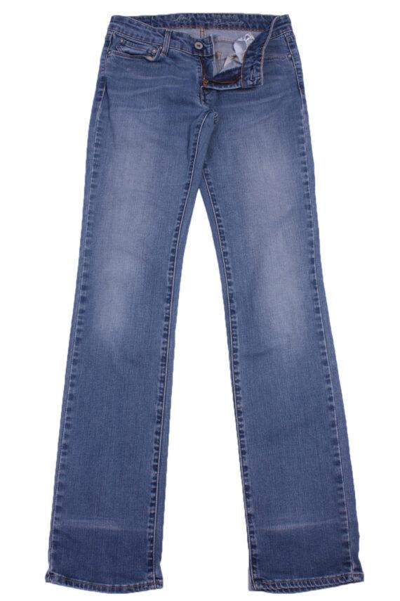 """Levi's Vintage Blue Jeans with Buttons&Zip Women Size - W:28"""" L:32.5"""" - J2426-0"""