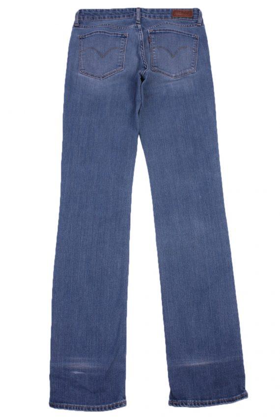 """Levi's Vintage Blue Jeans with Buttons&Zip Women Size - W:28"""" L:32.5"""" - J2426-27235"""