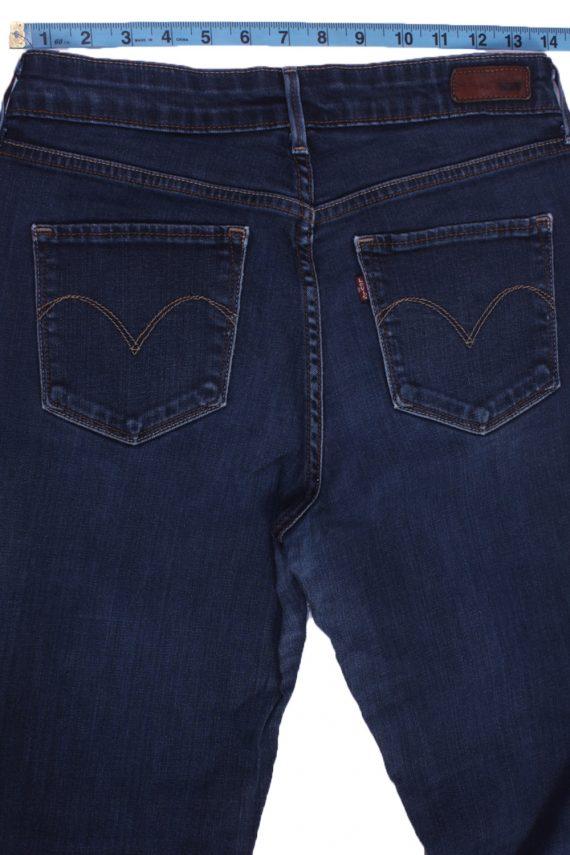 """Levi's Vintage Blue Jeans with Buttons&Zip Women Size - W:30"""" L:29.5"""" - J2435-27263"""