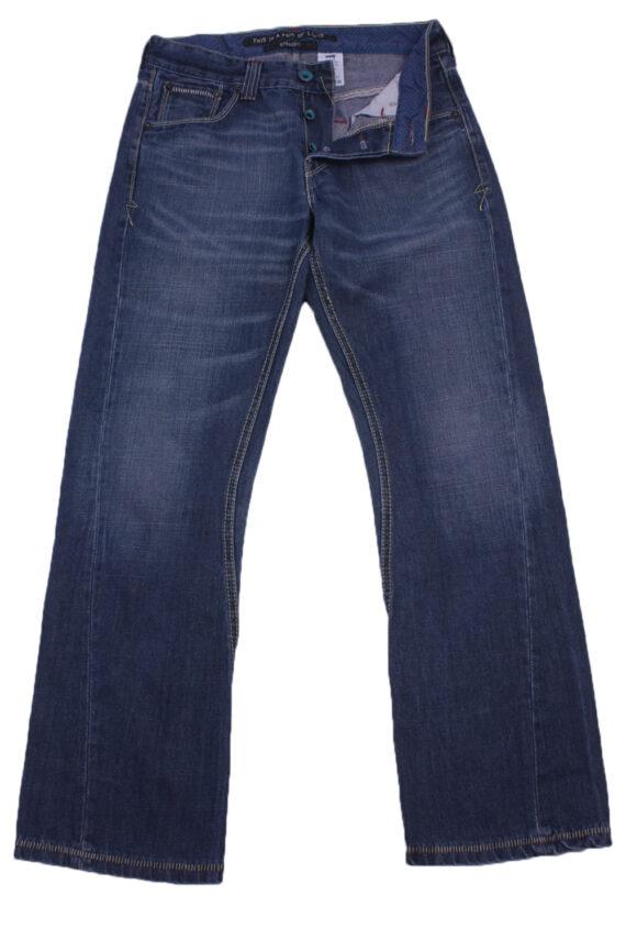"""Levi's Vintage Blue Jeans with Buttons&Zip Women Size - W:30"""" L:29"""" - J2436-0"""